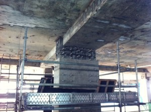 Formwork to be installed